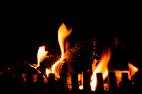 Free photo: Fireplace Light Torch Fire Flame Heat #139 - 123PhotoFree.com